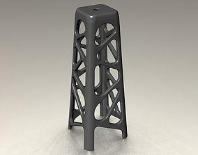 3D print model Wakanda Voronoi Stool