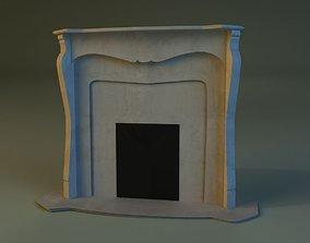 3D Fireplace interior