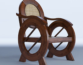 Colonial Chair Outdoor 3D