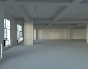 Office space 3D model VR / AR ready