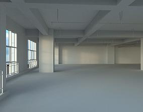 Office space 3D model VR / AR ready