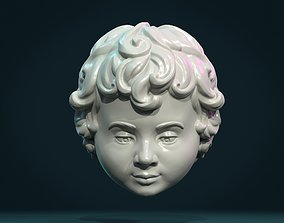 Child Head I 3D printable model