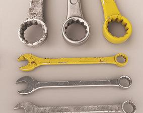 3D asset Wrench KEY 2