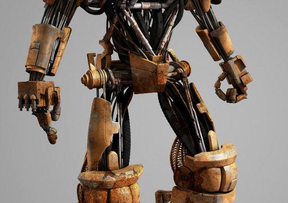 Judge Dredd ABC Robot