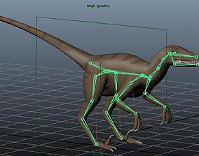 Velociraptor 3D print model