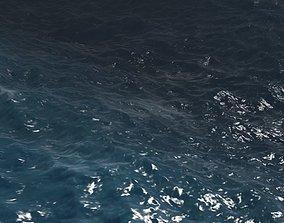 sea ocean aniamtion river lake water 3D model