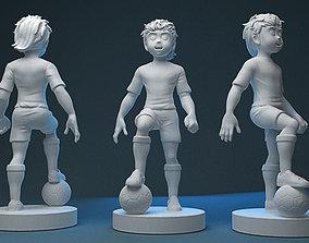 Captain Tsubasa 3D Printable captain
