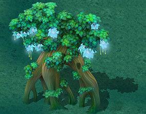 3D model Cartoon Edition - Wizard Tree