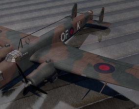 3D model A W Whitley Mk-3