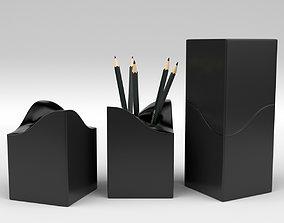 3D model Pencil Holder wood