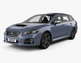 Subaru Levorg with HQ interior 2015 3D