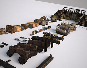 Ship Pirate Pack 3D