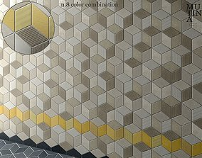 Tile TEX by Mutina - set 02 3D model