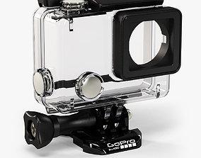 3D model GoPro HERO4 Waterproof Housing