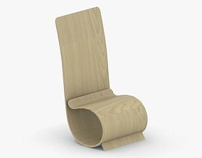 3D model VR / AR ready 0052 - Modern Chair