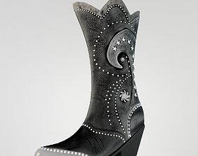 3D model Boots womens