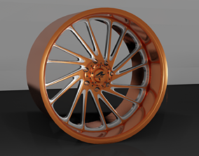 3D print model Rogue Forged R23 Ronin wheel