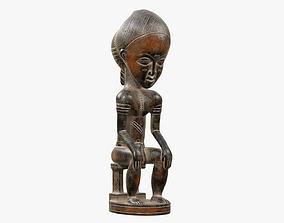 3D asset Baule Statue