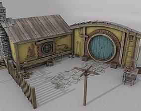 3D model Halfling Home 4