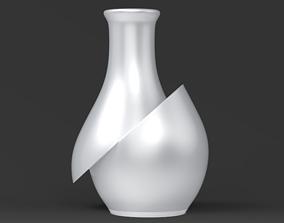 Cutted Vase STL for 3D print model