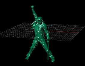3D print model Freddie Mercury