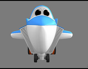 3d model toys and games vehicle toy airplane kids