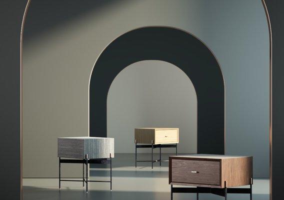 Furniture Bedside cabinet 001