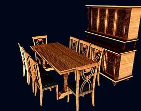 3D Dinning set 2