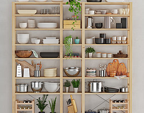 Kitchenware and Tableware 24 3D