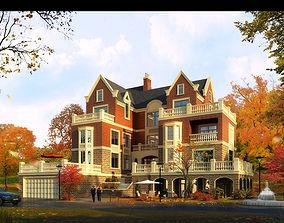 3D model Architecture 040 house