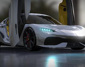 Koenigsegg Gemara 2021 3D
