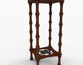 3D Blanch End Table