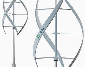 Vertical wind turbine 3D model