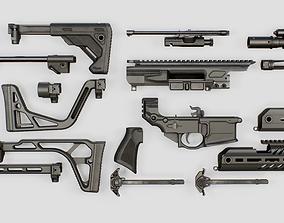 Sig Sauer MCX Rattler PDW Rifle 3D model