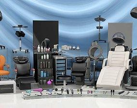 Salon Equimpents Collection 3D