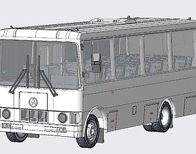 3D print Bus LAZ A073 USSR M 43