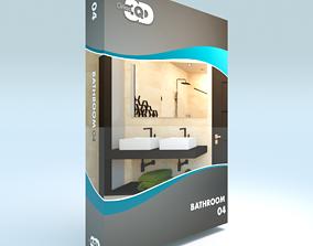 3D asset Bathroom 04