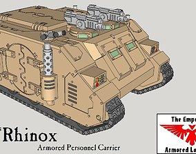 15mm Rhinox Family of Sci-Fi Armored 3D print model