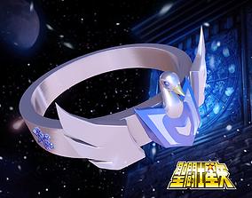 Hyoga ring - Saint Seiya 3D printable model